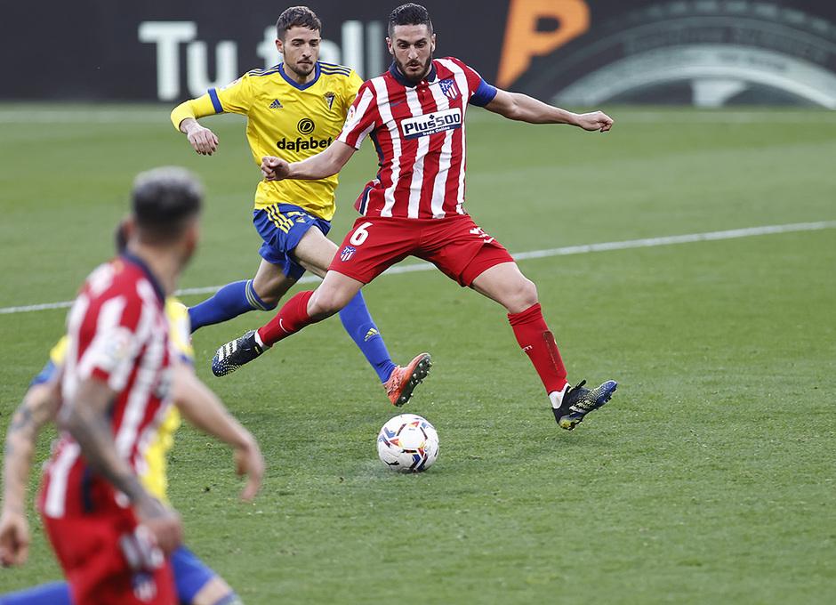 Temp. 20-21 | Cádiz - Atlético de Madrid | Koke
