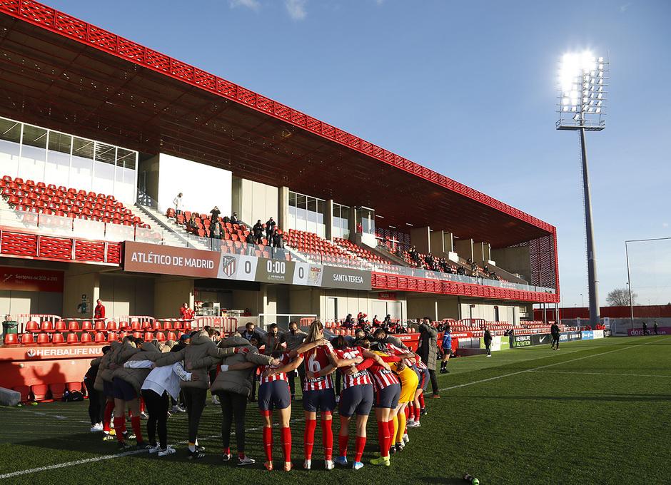 Temp. 20-21 | Atleti Femenino-Santa Teresa | Piña
