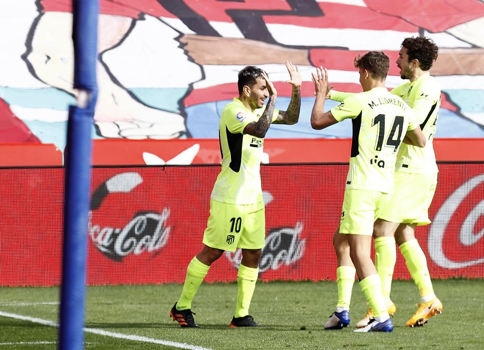 Temp. 20-21 | Granada - Atleti | Celebración 1-2