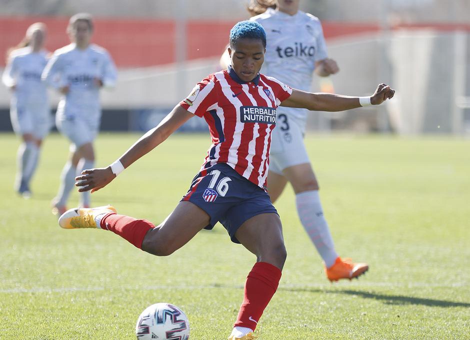 Temp. 20-21 | Atlético de Madrid Femenino - Valencia | Ajibade