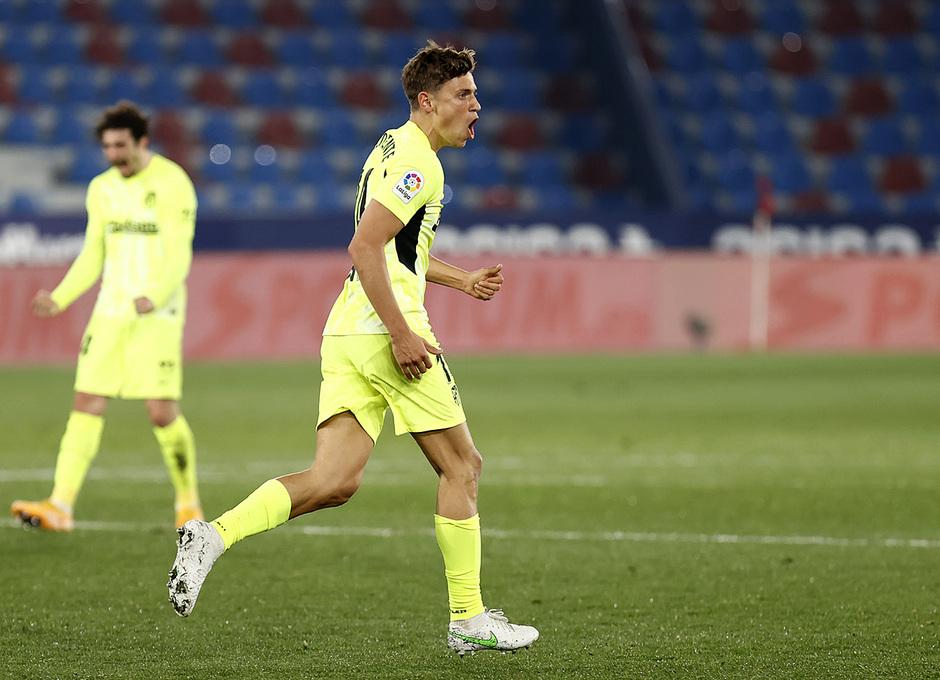 Temp. 20-21 | Levante - Atleti | Llorente celebración gol