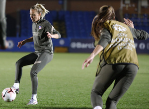 Temp. 20-21 | UWCL | Entrenamiento Chelsea-Atleti Femenino | Turid