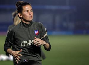Temp. 20-21 | UWCL | Entrenamiento Chelsea-Atleti Femenino | Merel