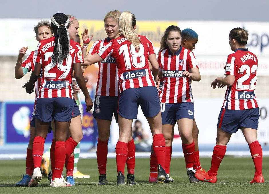 Temp. 2020-21 | Real Betis - Atlético de Madrid Femenino | Celebración Njoya Ajara