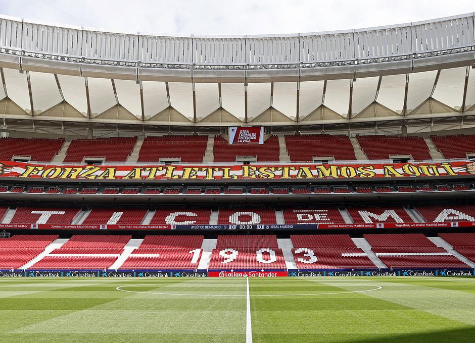 Temp. 2020/21 | Atleti - Real Madrid | Pancarta