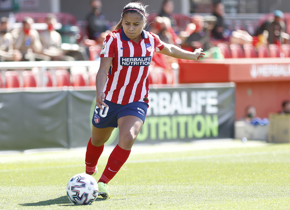 Temp. 2020/21 | Atleti Femenino-Real Madrid | Leicy Santos