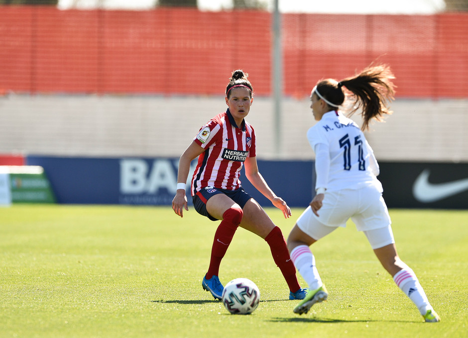 Temp. 2020/21 | Atleti Femenino-Real Madrid | Merel