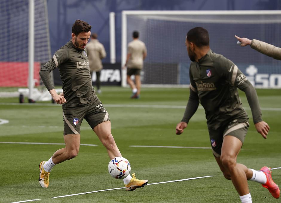 Temp. 20-21 | Entrenamiento Atlético de Madrid | Saúl