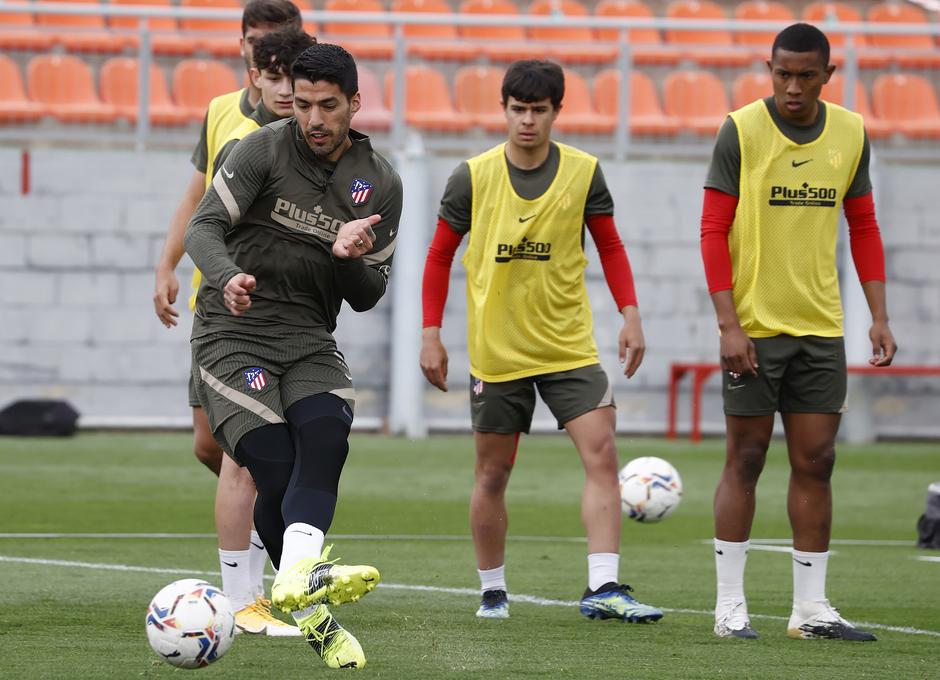 Temp. 20-21 | Entrenamiento Atlético de Madrid | Luis Suárez