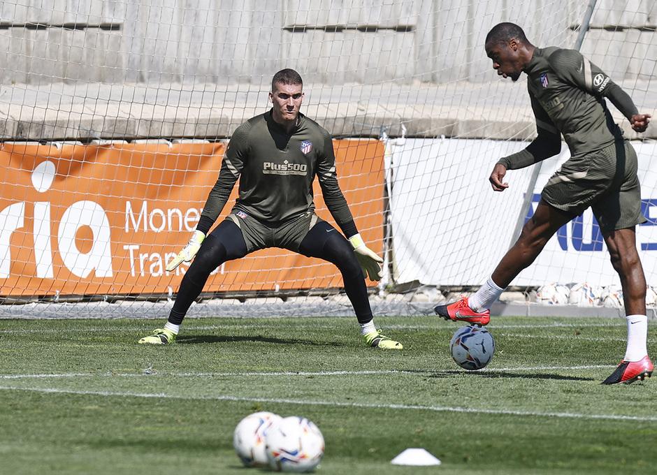 Temp. 20-21 | Entrenamiento Atlético de Madrid | Kondogbia