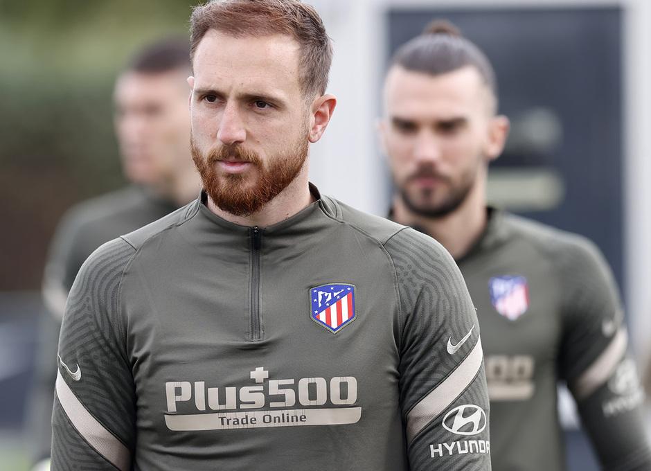 Temp. 20-21 | Entrenamiento Atlético de Madrid | Oblak