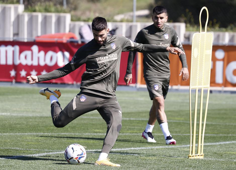 Temp. 20-21 | Entrenamiento Atlético de Madrid 17 abril | Carrasco