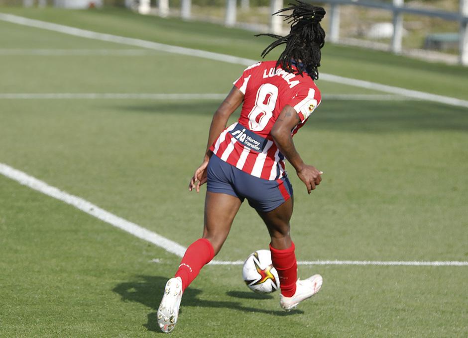 Temp. 2020/21 | Cuartos Copa de la reina | Real Sociedad-Atleti Femenino | Ludmila pase gol