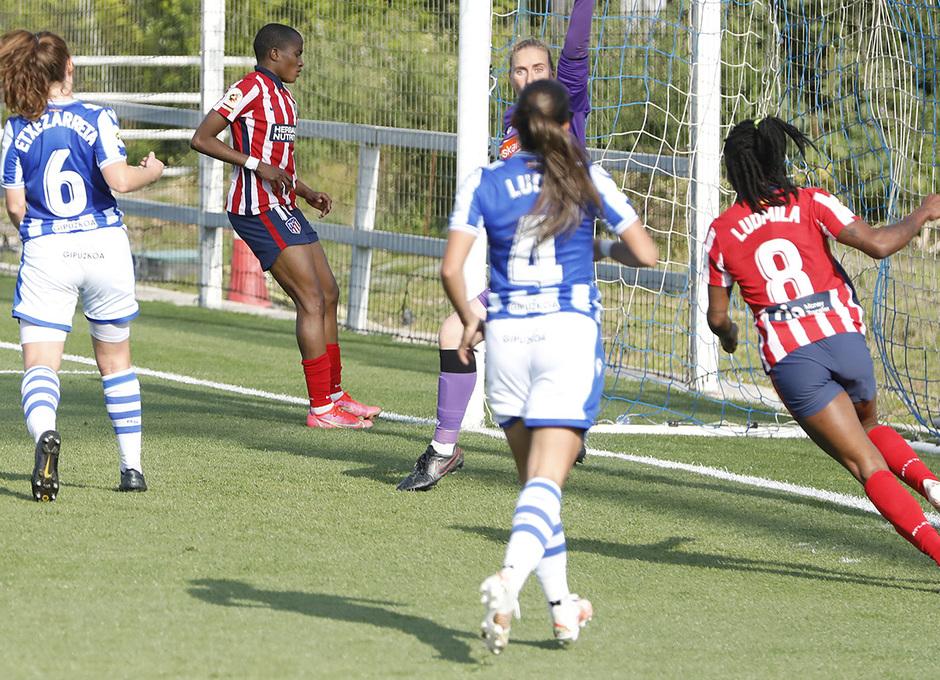 Temp. 2020/21 | Cuartos Copa de la reina | Real Sociedad-Atleti Femenino | Ajibade gol