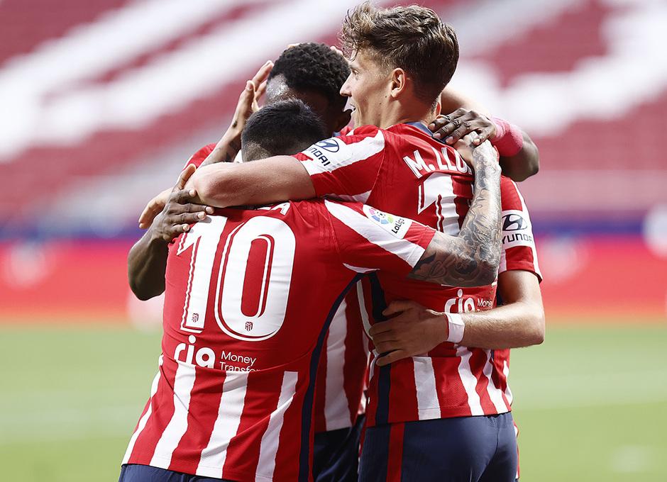 Temp. 2020/21 | Atleti - Huesca | Celebración gol