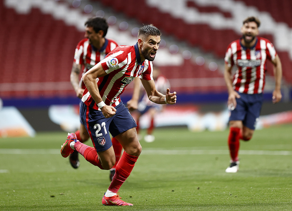 Temp. 20-21   Atleti-Real Sociedad   Carrasco celebración