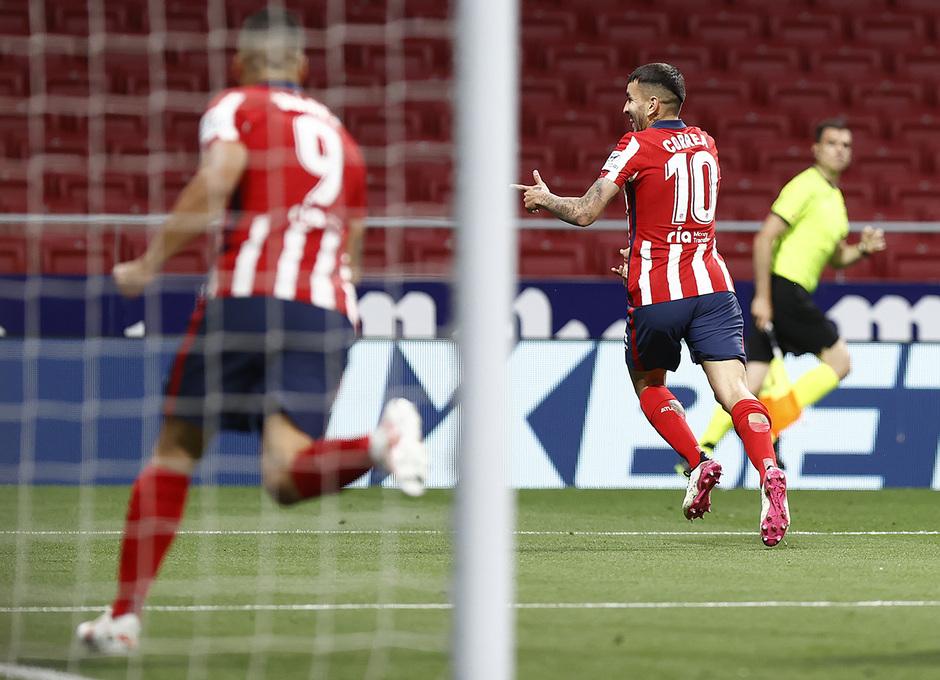 Temp. 20-21 | Atleti-Real Sociedad | Correa celebración