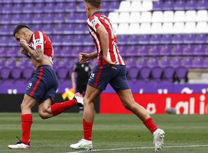 Temp. 20-21   Atleti-Valladolid   Celebración