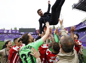 Temp. 20-21   Valladolid-Atleti   Celebración