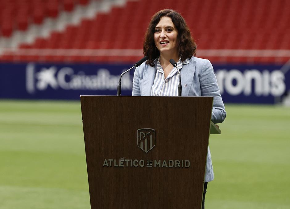 Temp. 20-21 | Celebración título LaLiga Wanda Metropolitano | Atlético de Madrid | Campeones | Ayuso