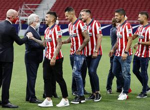 Temp. 20-21 | Celebración título LaLiga Wanda Metropolitano | Atlético de Madrid | Campeones