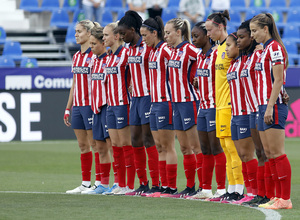 Temp. 20-21 | Copa de la Reina | Atleti Femenino - Levante | Minuto de silencio
