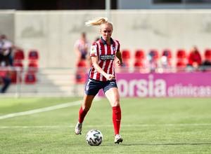 Temp. 20-21   Atlético de Madrid Femenino - FC Barcelona   Turid Knaak
