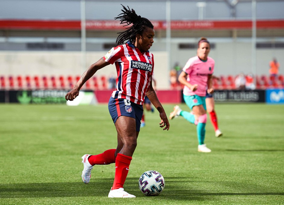 Temp. 20-21 | Atlético de Madrid Femenino - FC Barcelona | Ludmila