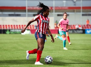 Temp. 20-21   Atlético de Madrid Femenino - FC Barcelona   Ludmila