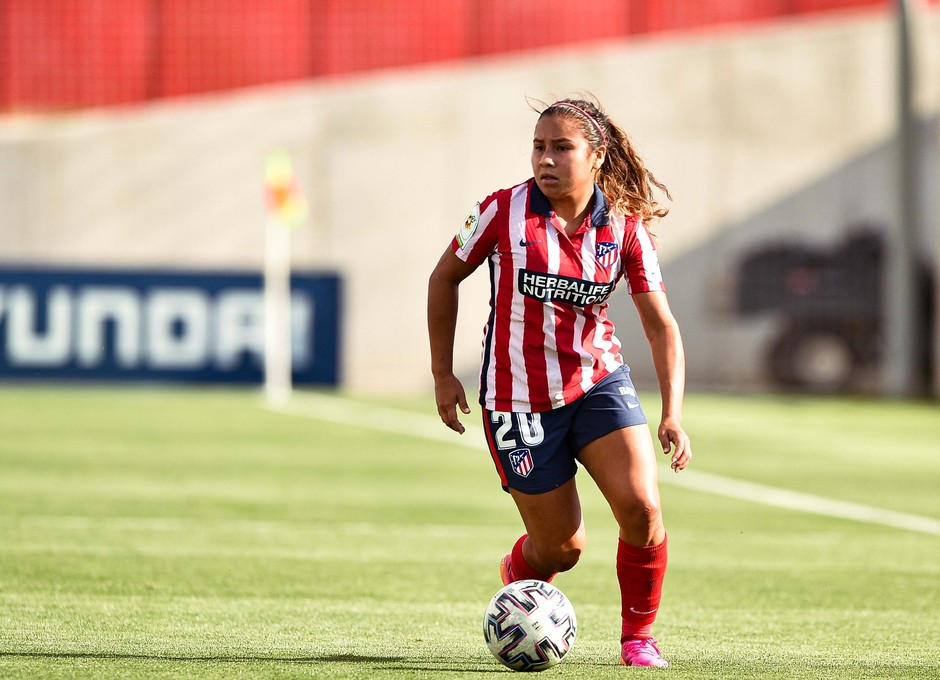 Temp. 20-21 | Atlético de Madrid Femenino - FC Barcelona | Leicy