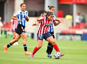 Temp. 20-21   Atlético de Madrid Femenino - Espanyol   Leicy