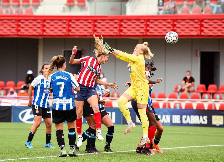 Temp. 20-21 | Atlético de Madrid Femenino - Espanyol | Laia