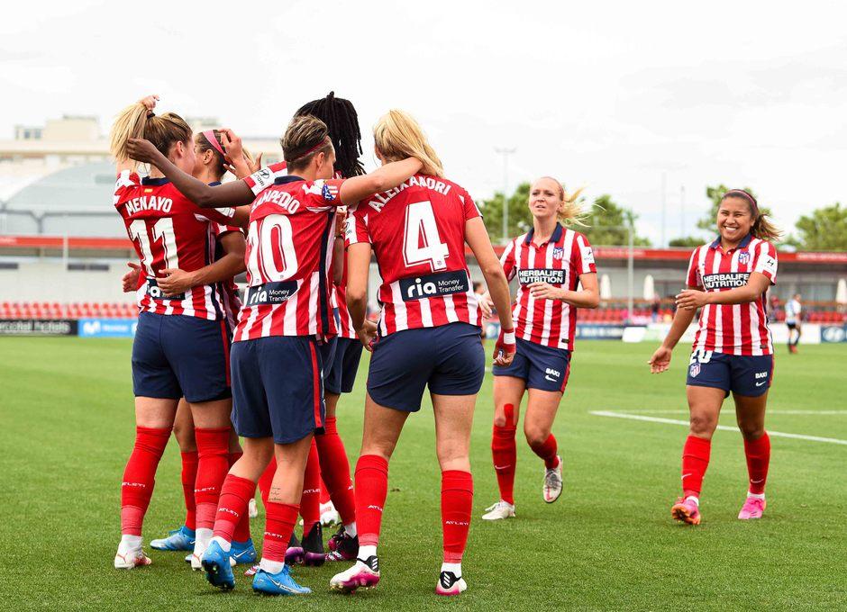 Temp. 20-21 | Atlético de Madrid Femenino - Espanyol | Laia celebración gol