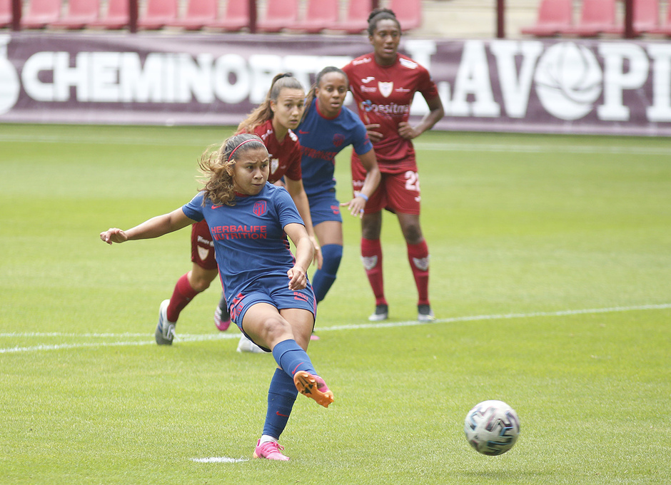 Temp. 20-21 | EDF Logroño - Atlético de Madrid Femenino | Gol Leicy penalti