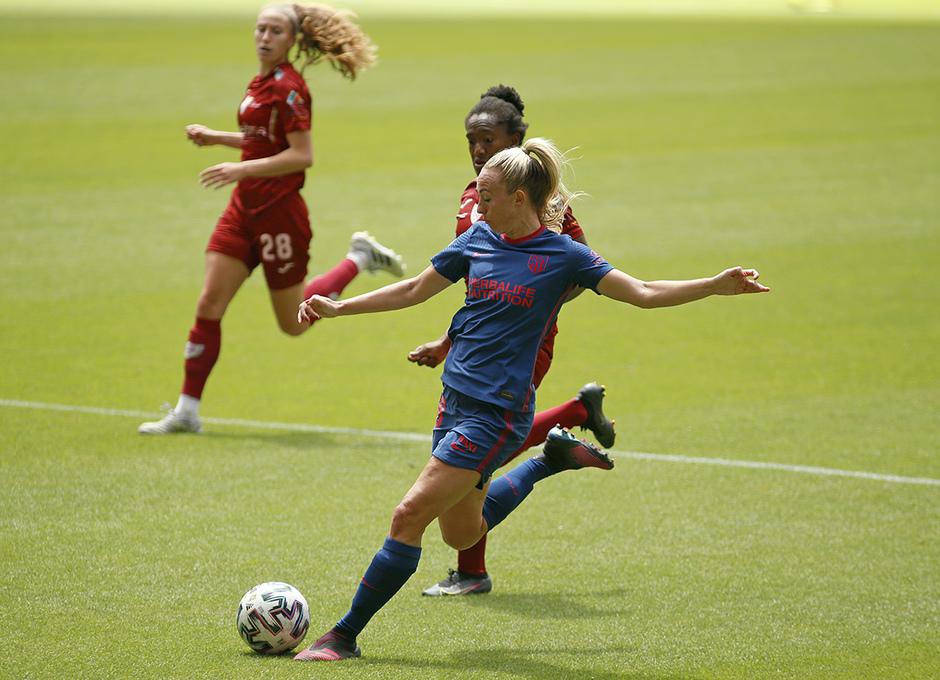 Temp. 20-21 | EDF Logroño - Atlético de Madrid Femenino | Toni Duggan