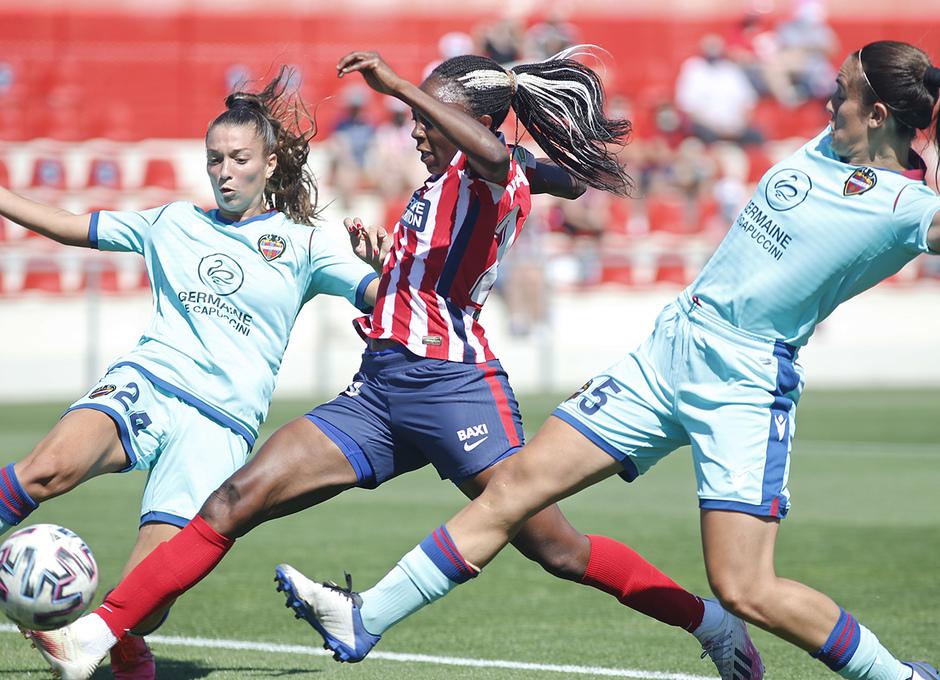 Temp. 20-21 | Atlético de Madrid Femenino - Levante | Ajara