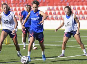 Temp. 21-22   Entrenamiento Atlético de Madrid Femenino    Amanda Sampedro