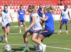 Temp. 21-22   Entrenamiento Atlético de Madrid Femenino   Deyna Castellanos