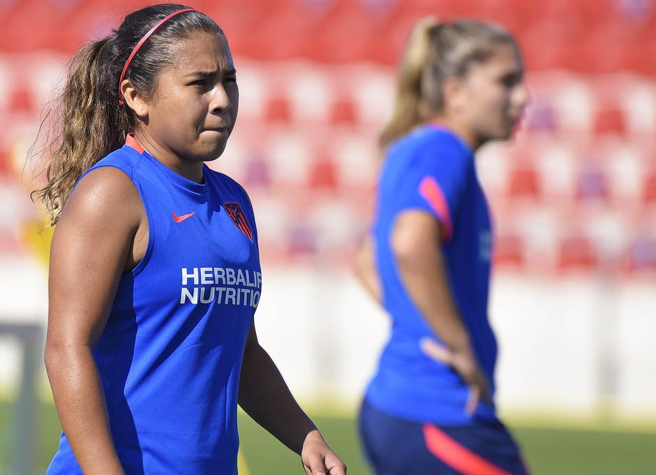 Temp. 21-22 | Entrenamiento Atlético de Madrid Femenino | Leicy Santos