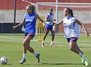 Temp. 21-22   Entrenamiento Atlético de Madrid Femenino   Maitane