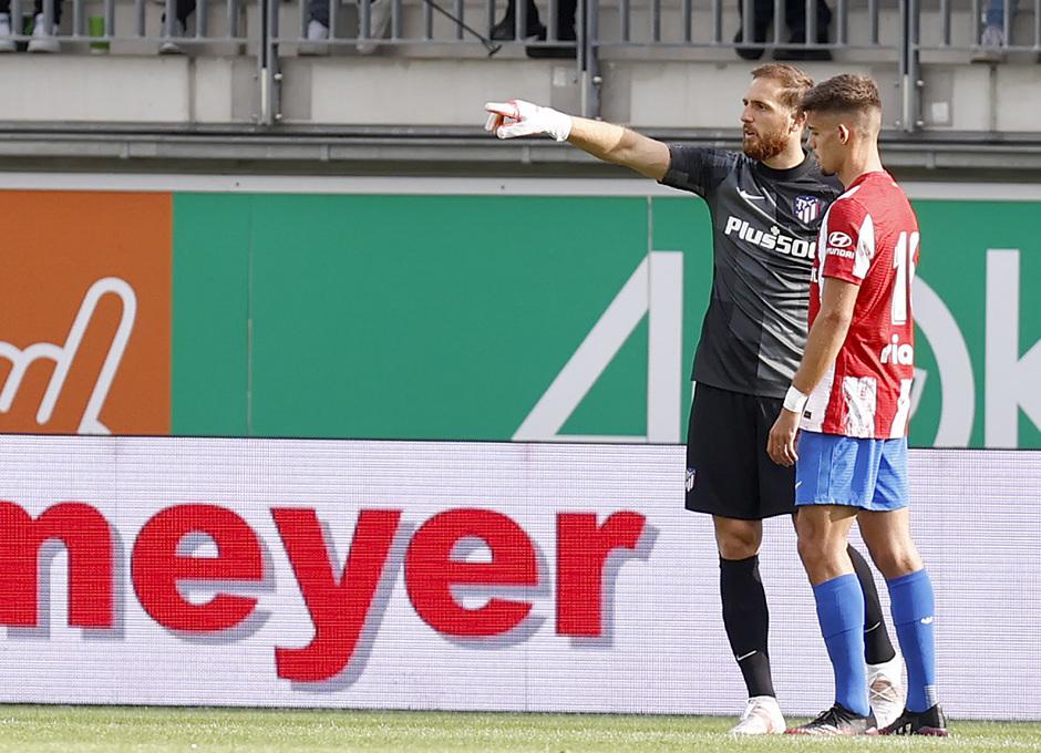 Temp 21/22 | Wolfsburg - Atlético de Madrid | Montero, Oblack