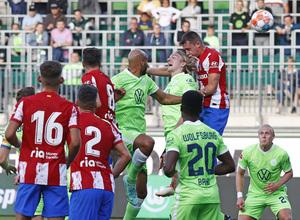 Temp 21/22   Wolfsburg - Atlético de Madrid   Gol Borja Garcés