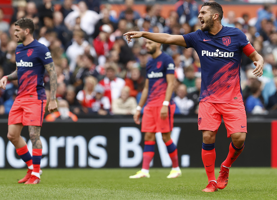 Temp 21/22 | Feyenoord - Atlético de Madrid | Koke