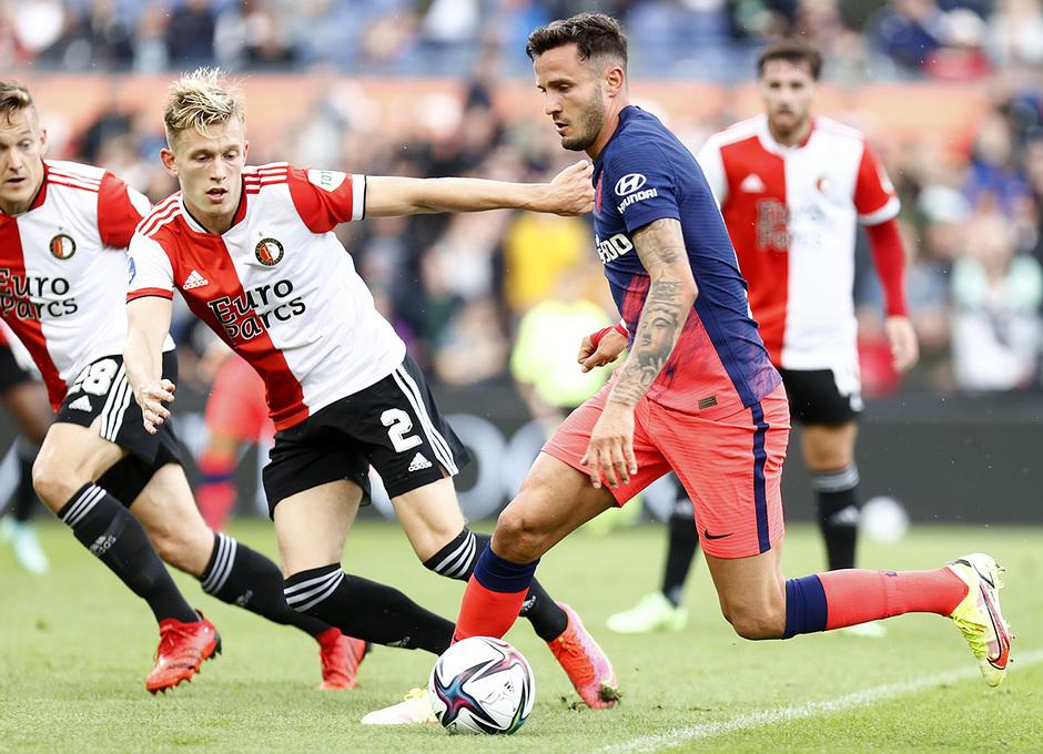 Temp 21/22 | Feyenoord - Atlético de Madrid | Saúl