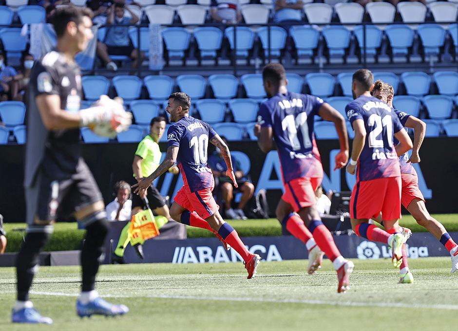Temp. 21-22 | Celta - Atleti | Celebración Correa