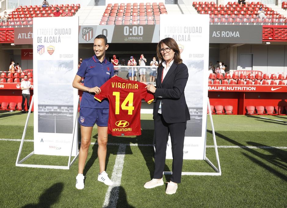 Temp. 21-22 | Atlético de Madrid Femenino - AS Roma | Homenaje Virginia