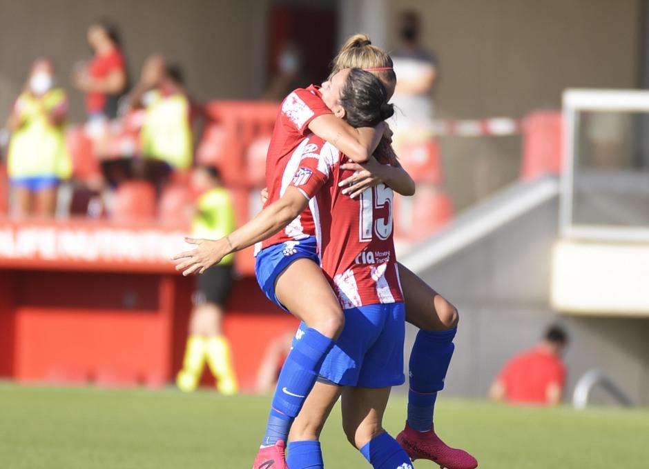 Temp. 21-22 | Atlético de Madrid Femenino - AS Roma | Celebración gol Meseguer