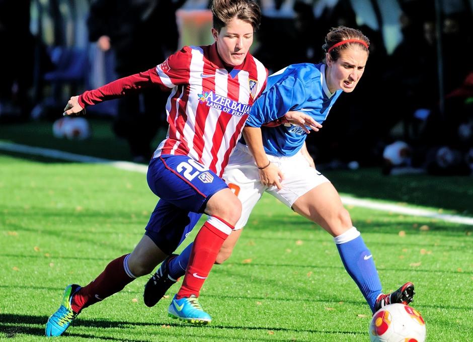 Temporada 2013-2014. Blanca fue protagonista en el partido ante el Athletic con un gol