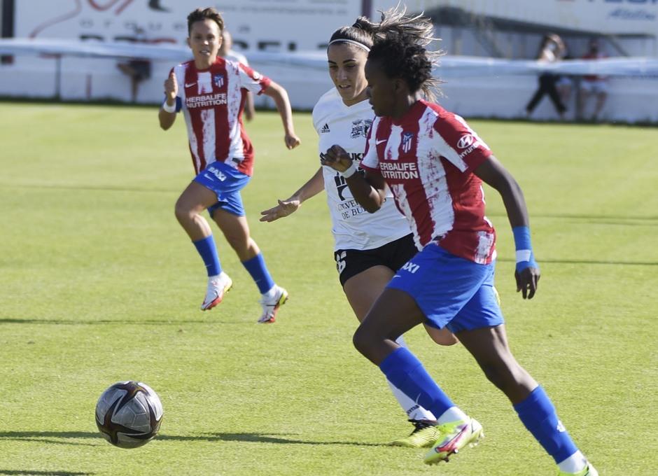 Temporada 2021/22   Triangular amistoso   Atleti Femenino-Burgos   Kgatlana