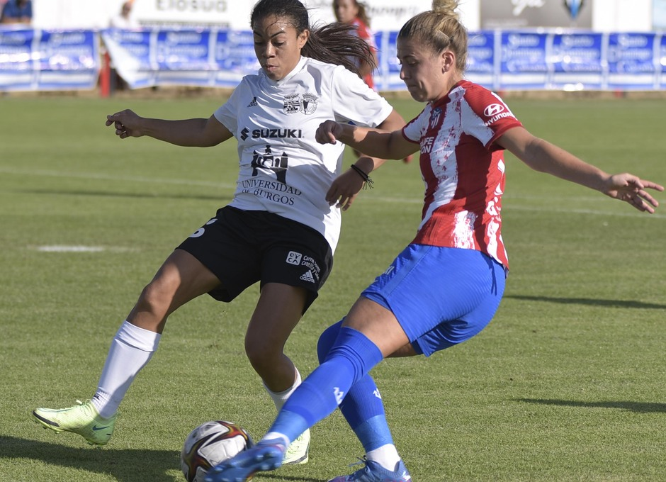 Temporada 2021/22   Triangular amistoso   Atleti Femenino-Burgos   Menayo